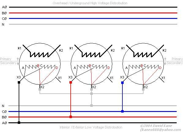 3ph_secy_template 3 phase transformer connections 120/208v single phase wiring diagram at bakdesigns.co